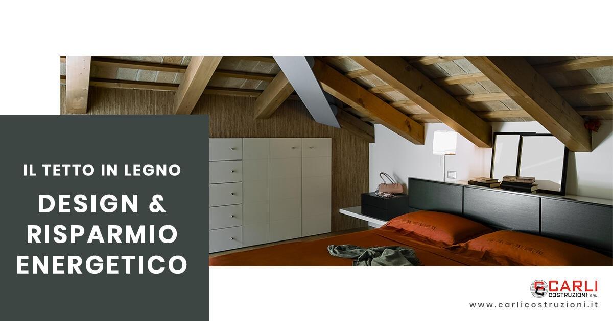 Il tetto in legno che unisce design e risparmio energetico