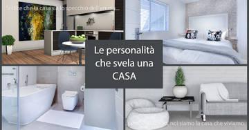 Le personalità che svela una casa