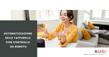 Automatizzazione delle tapparelle con controllo da remoto wifi o tramite comandi come Alexa, Google Home
